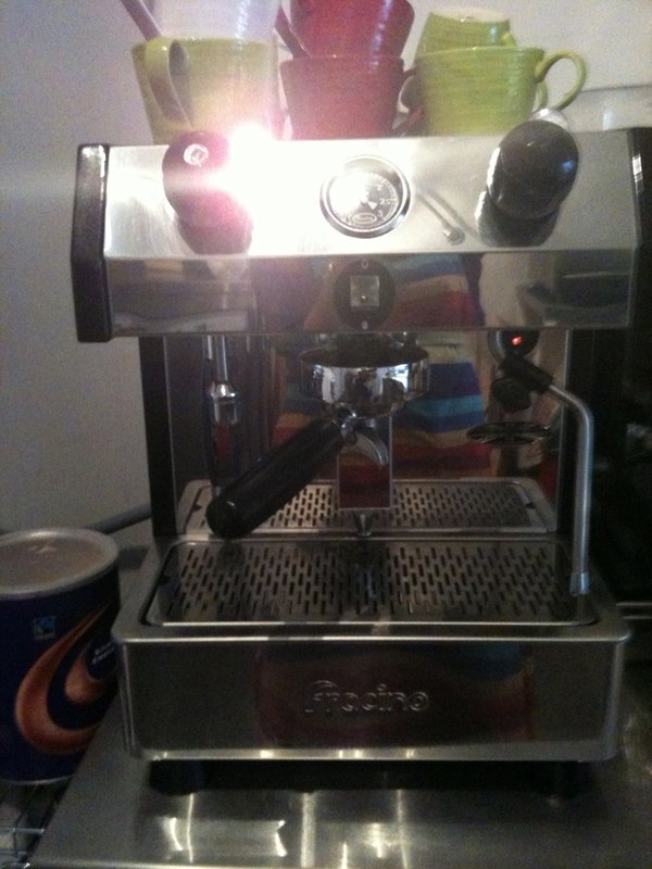 Fracino coffee machine