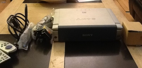 Used Sony VPL CX4 LCD projector for sale
