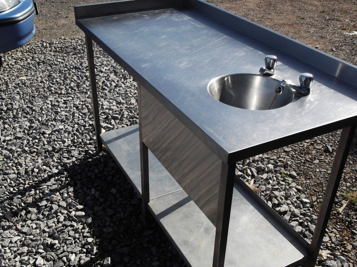 ... Somerset Stainless Steel Sink Table (1385) - Bridgwater, Somerset