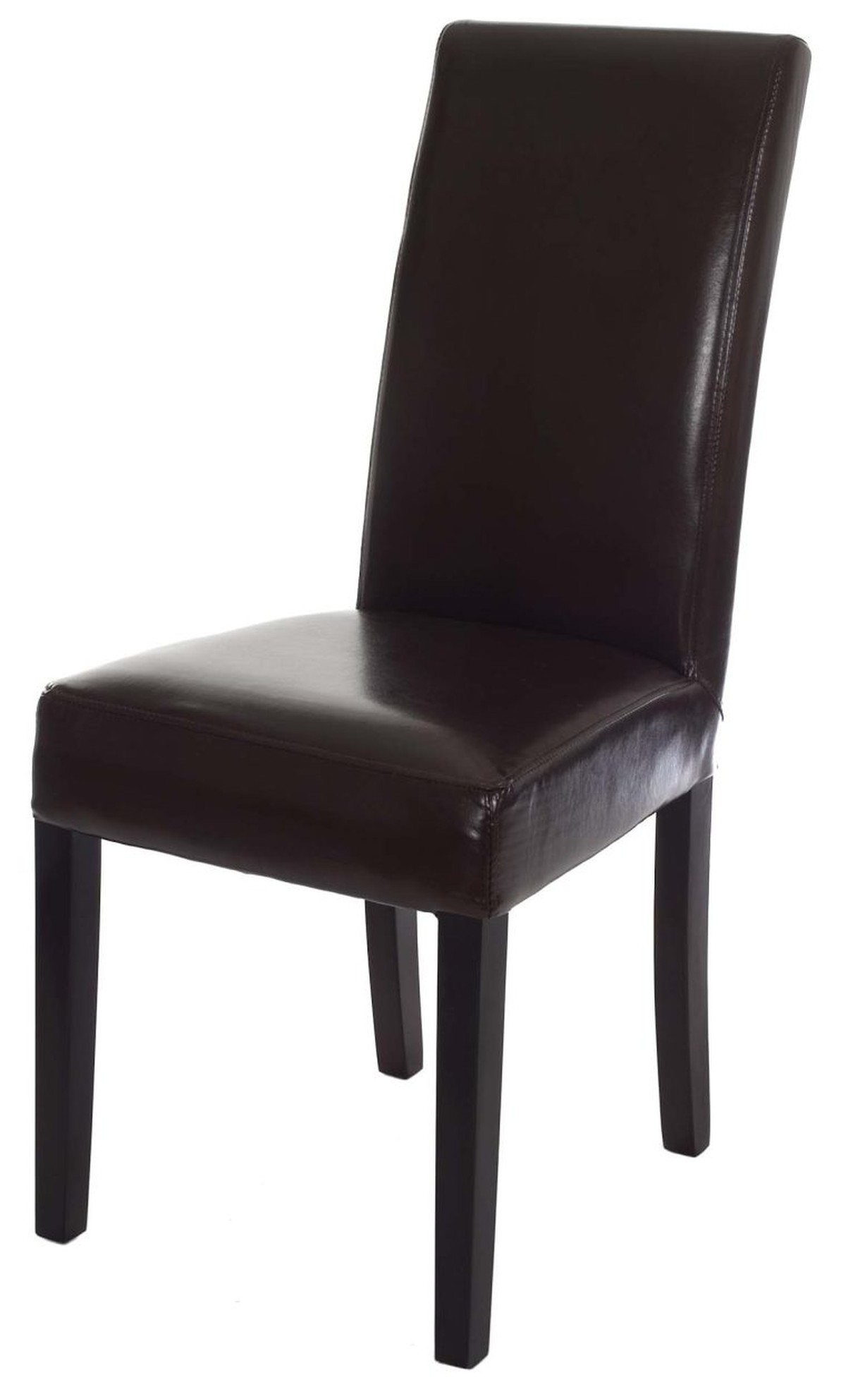 Secondhand exhibition and display equipment fiesta for Black leather dining chairs