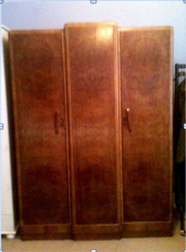 Walnut wardrobe