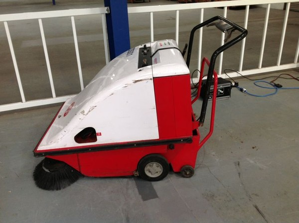 Used RCM Battery Operated Pedestrian Sweeper / Collector