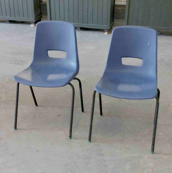 Ploly Stacking chairs for sale