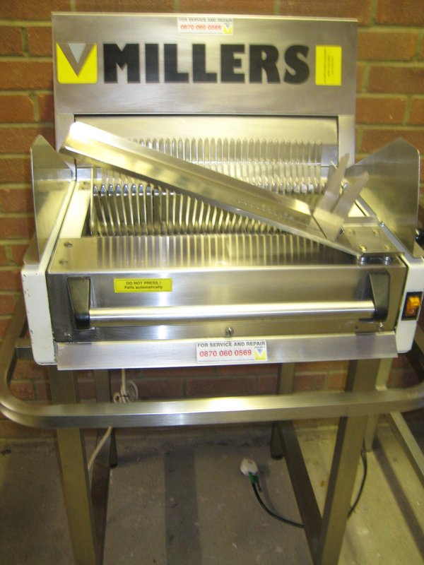 Millers Used Commercial Bread Slicer
