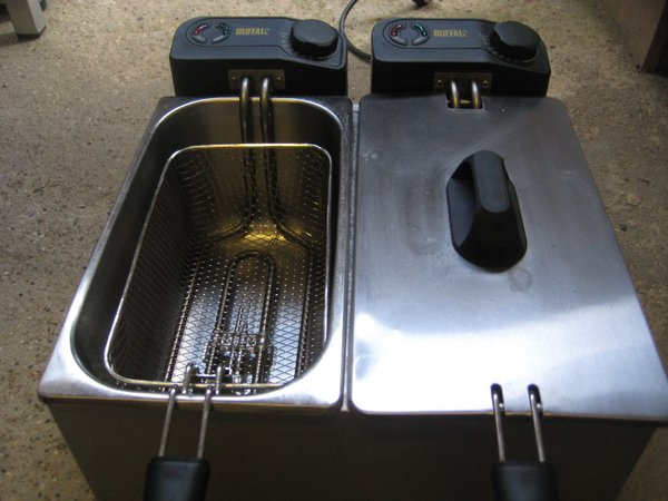 New Buffalo Countertop Double Fryer