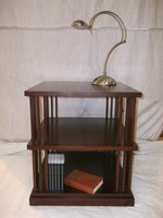 Solid Mahogany Bookstand