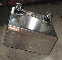 Franke aluminium hand wash sink