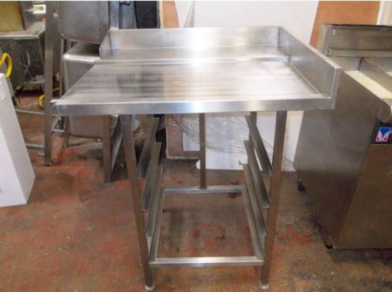 Table Top Dishwasher India : ... Dishwashers > Stainless Steel Pass Through Dishwasher Exit Table