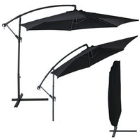banana umbrella black