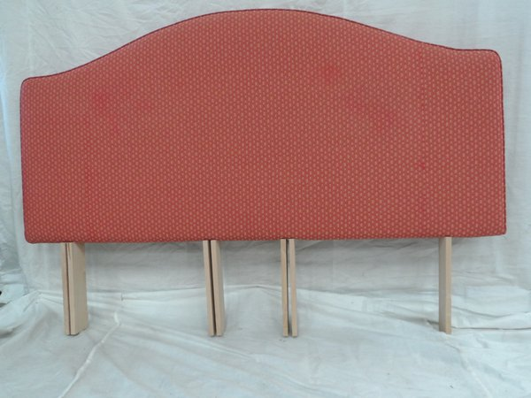 Patterned headboard