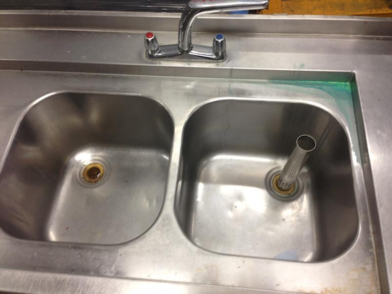 ... Pub Equipment Sinks and Dishwashers Double Bowl Sink Unit - London