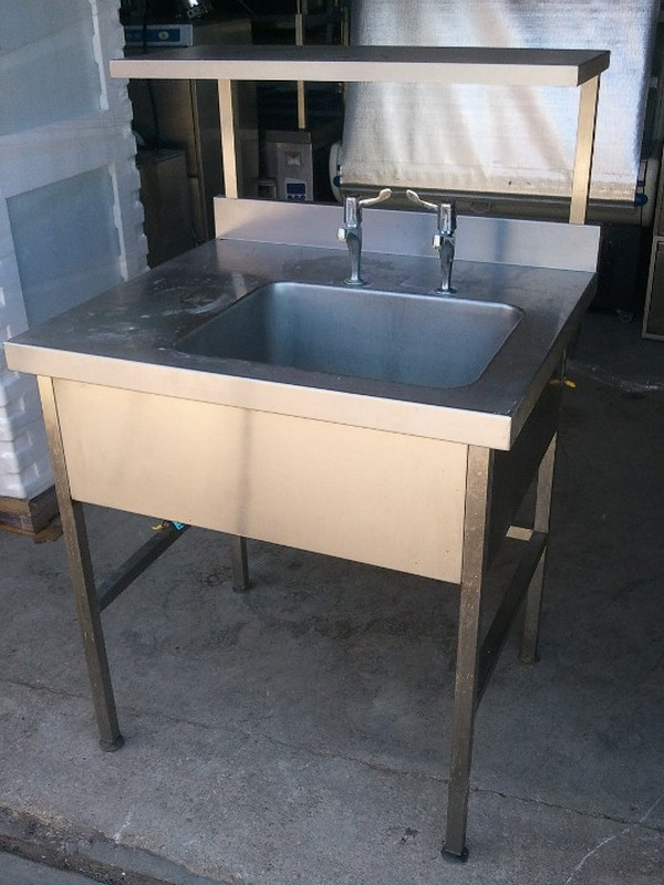 Large Stainless Steel Single Bowl Sink
