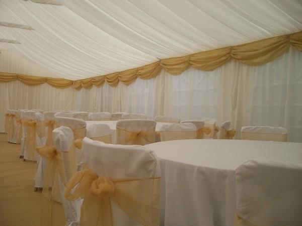 gala tent dressed