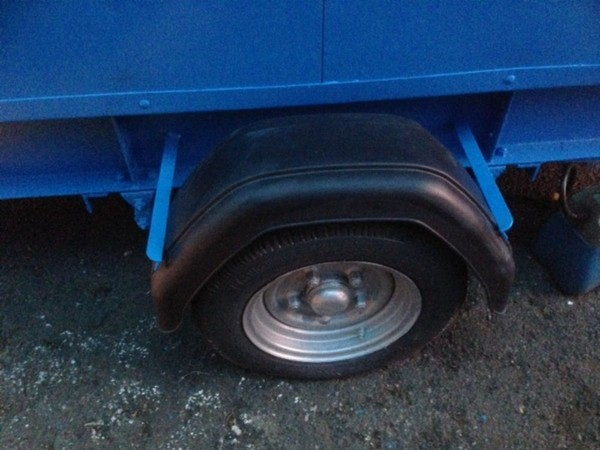toilet trailer tyre