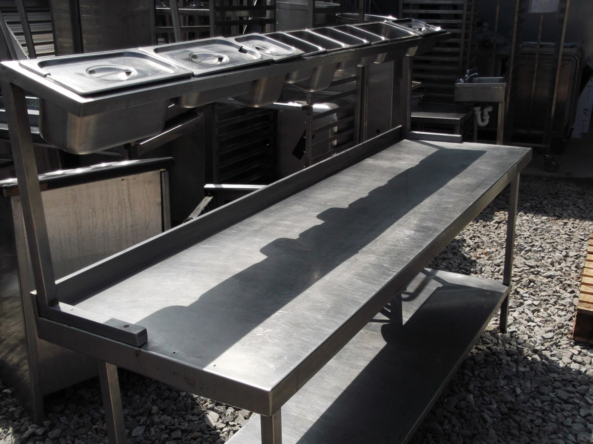 Stainless steel pizza prep table 1490 bridgwater somerset