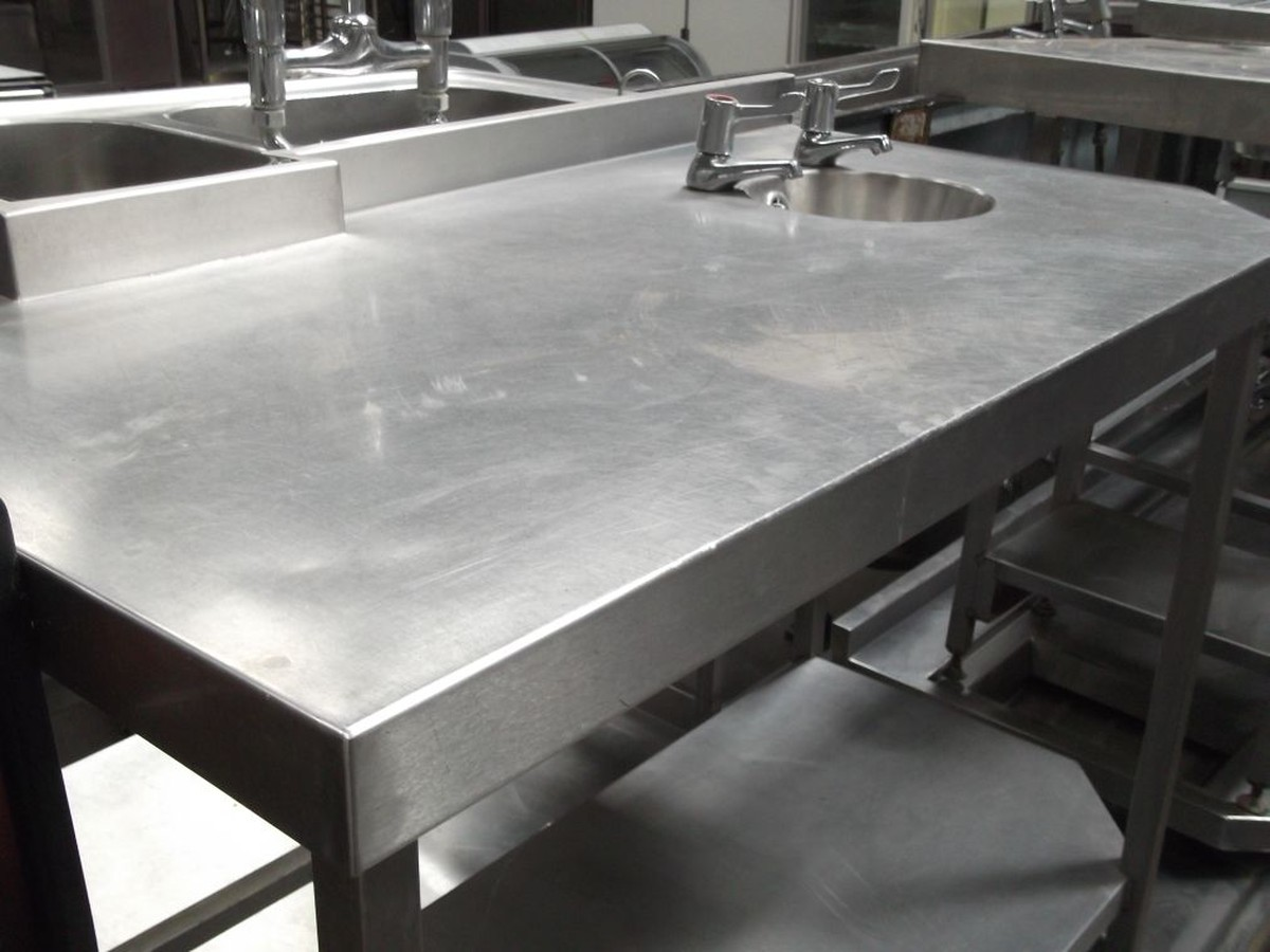 Stainless Sink Table : ... Somerset Stainless Steel Sink / Table (1503) - Bridgwater, Somerset