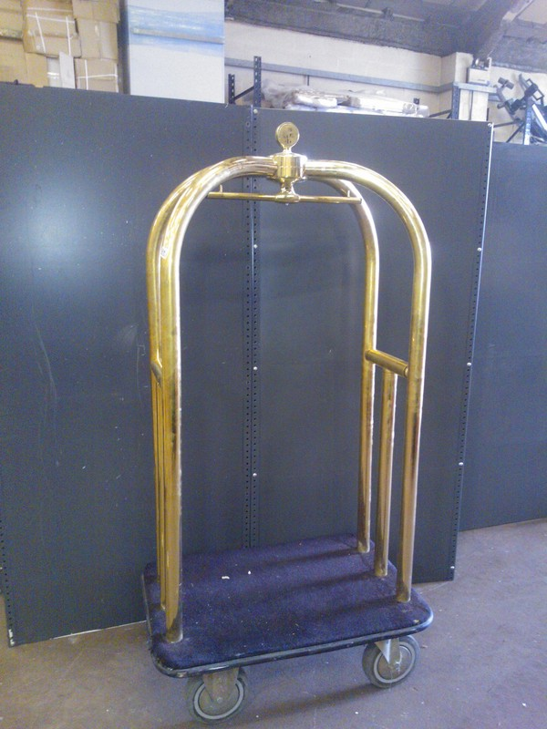 For sale porters luggage trolley