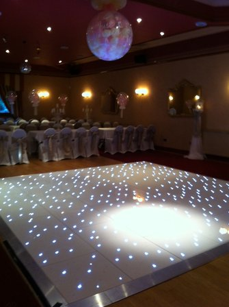 Curlew Secondhand Marquees Dance Floor
