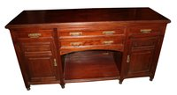 Mahogany Sideboard with Drinks Drawer