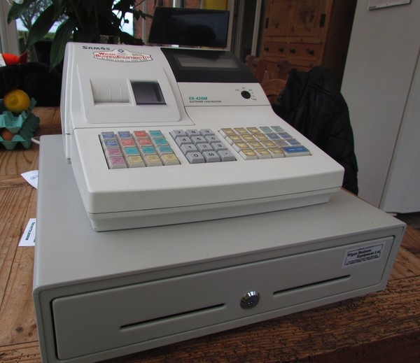 Sam 4s ER-420m electronic cash register