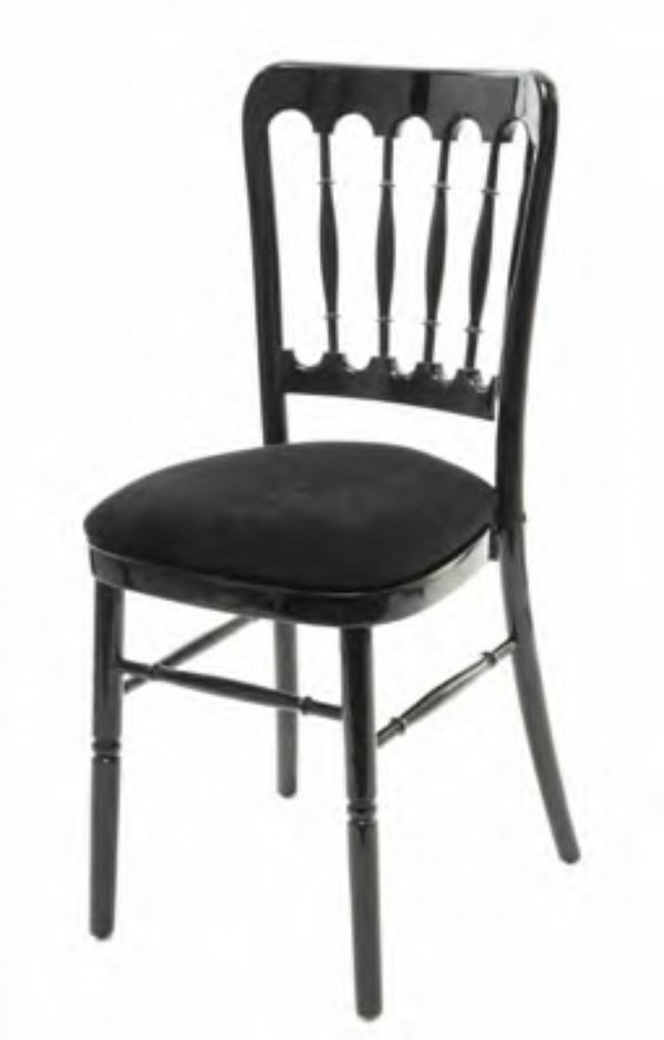 Black cheltenham chair