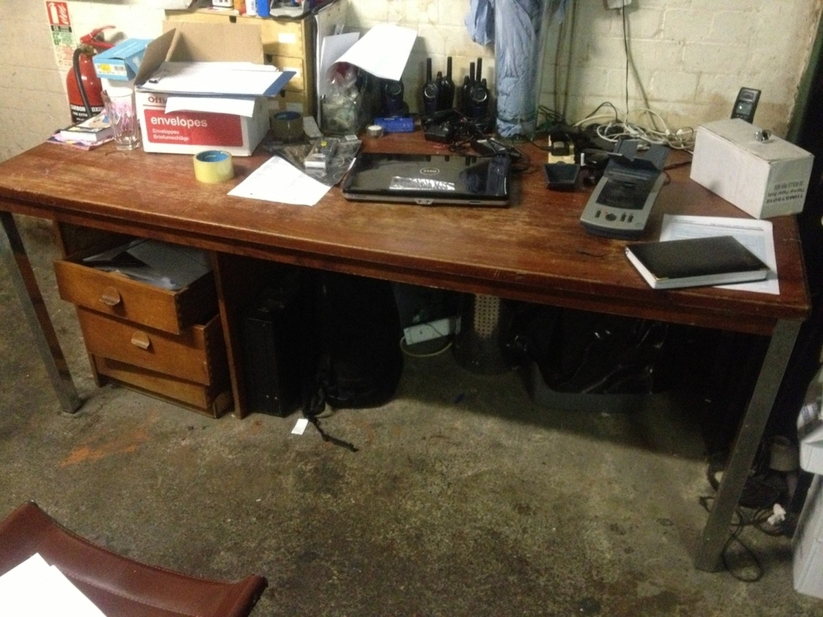 Secondhand Chairs And Tables Office Furniture Wood Metal Desk London