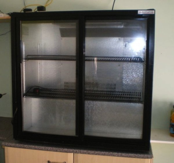 Autonumis Sliding Double Door Fridge
