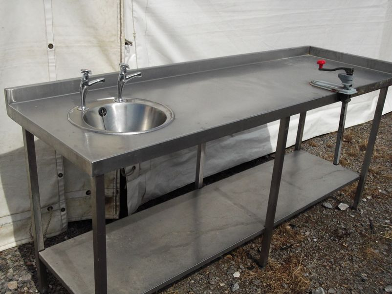 Stainless Sink Table : ... Sinks and Dishwashers Stainless Steel Table/ Sink (1593