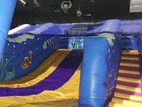 Sea slide bouncy castle