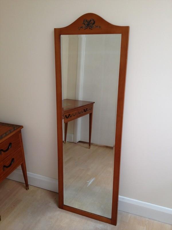 Long bedroom mirror