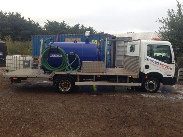 Nissan cabstar 4.5 ton vacuum tanker