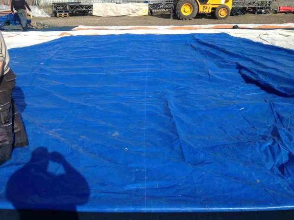 38m Miotti Tensile Bigtop roof