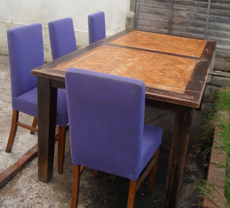 Tables Restaurant Or Cafe Tables 4x Solid Wood Dining Tables