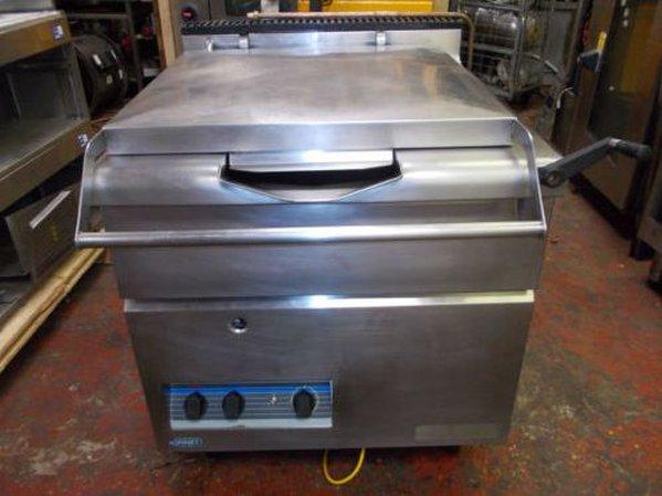 Bonnet lpg gas brat pan or boiling pan