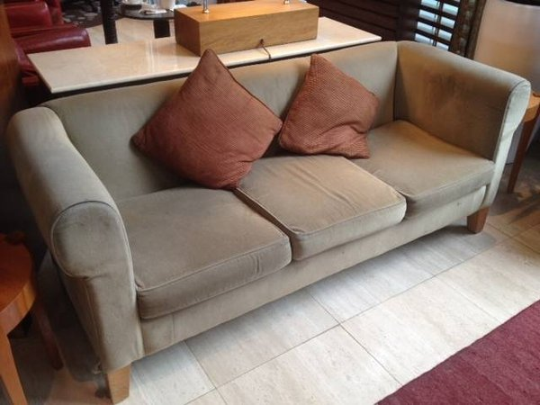 Reception 3 Seat Settee in Brown