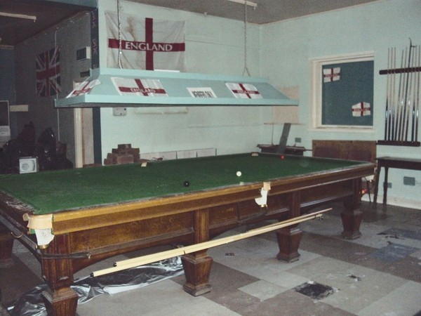buy used snooker table