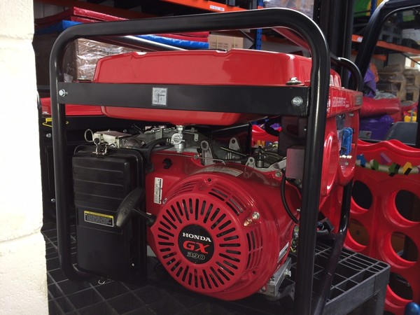 6.5 KVA Petrol Generator WITH HONDA GX390 ENGINE