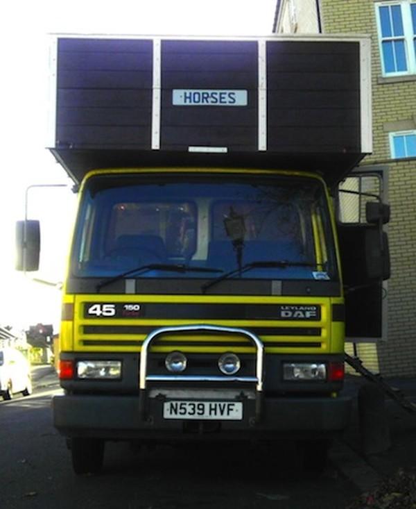 Buy Used Leyland DAF Horse Box Camper Traveller Festival Trader Market Truck