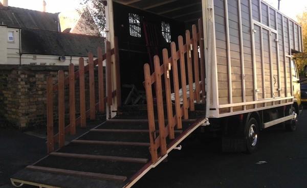 Used Leyland DAF Horse Box Camper Traveller Festival Trader Market Truck