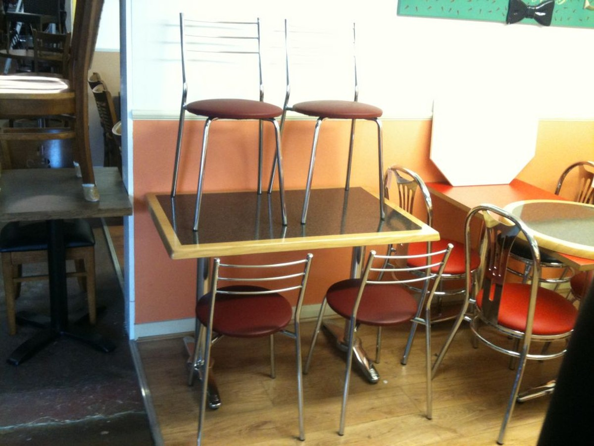 Secondhand Chairs And Tables Restaurant Or Cafe Tables 60x New Sandra Sta