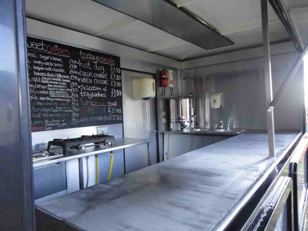 Crepe catering trailer for sale