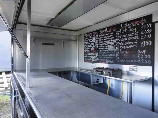 Demountable Catering Trailer