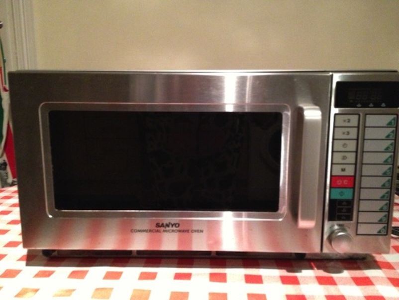 sanyo euro touch microwave manual