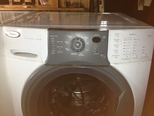 Whirlpool washing machine controls