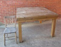 Large Kitchen or Deli Island Table