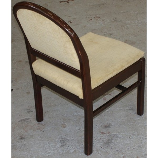 Wenge Framed Side Chairs for sale