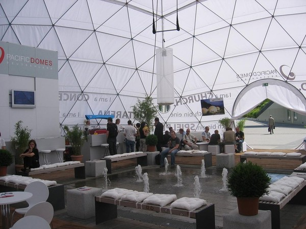 Buy Second Hand 60ft Event Dome (18m Diameter)
