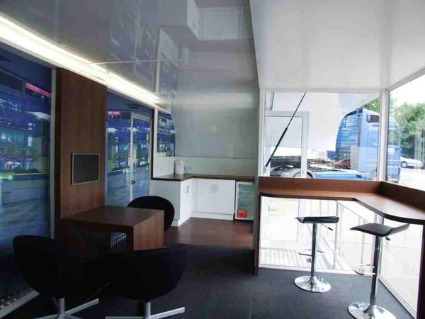 Modern exhibition trailers