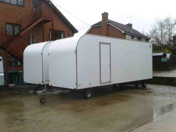 Second hand draw bar trailers