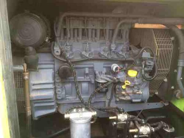 Deutz 4 cylinder diesel engin